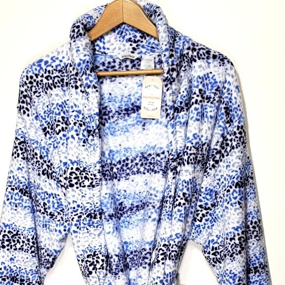 MAYFAIR Bathrobe Soft Plush Spa Kimono Bath Robe 9e424ca5c
